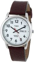 Timex Brown With White Dial