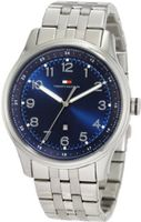 Tommy Hilfiger 1710308 Classic Stainless Steel and Blue Dial Bracelet