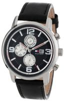 Tommy Hilfiger 1710335 Casual Sport Multi-Eye and Black Dial