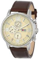 Tommy Hilfiger 1710337 Casual Sport Multi-Eye and Parchment Dial