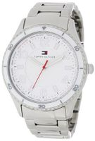 Tommy Hilfiger 1781056 Sport Bracelet with White Bezel and Textured White Dial