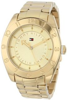 Tommy Hilfiger 1781357 Cool Sport Gold-Plated Numbered Bezel