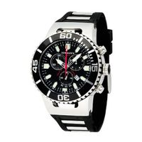 Torgoen Analog Quartz with Black Dial and Rubber Strap - T24301
