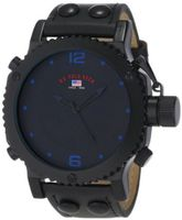U.S. Polo Assn. Classic US4022 Black Analog Leather Strap