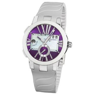 Ulysse Nardin 243103/3007 Executive Dual Time Purple Diamond Dial