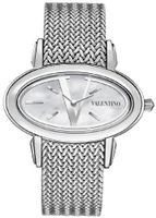 Valentino Signature Oval Stainless Steel Fashion V50SBQ9991-S099