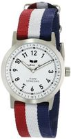 Vestal ABZ3C03 Alpha Bravo Zulu Analog Display Japanese Quartz Red