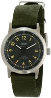 Vestal ABZ3C04 Alpha Bravo Zulu Analog Display Japanese Quartz Black