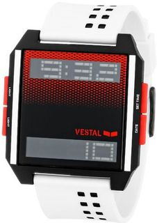 Vestal Unisex DIG028 Digichord Digital Display Quartz White
