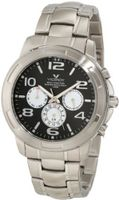 Viceroy 40323-15 White Sub Dials Black Dial Stainless-steel