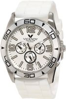 Viceroy 40351-05 White Day Date Rubber