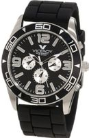 Viceroy 40351-55 Day Date Black Rubber