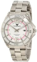 Viceroy 40672-95 White Dial Stainless steel Date