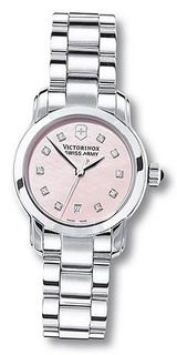 Victorinox Swiss Army SWISSA-241155 Pink Mother-Of-Pearl Stainless Steel