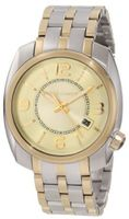 Vince Camuto VC/1000CHTT The Pilot Champagne Dial Date Function Two-Tone