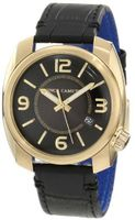 Vince Camuto VC/1001BKGP The Pilot Black Dial Date Function Gold-Tone