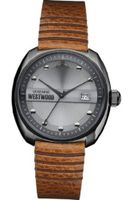 Vivienne Westwood Bermondsey Quartz with Grey Dial Analogue Display and Brown Leather Strap VV080GNTN
