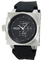 K26 Stainless Steel Case Black Dial Black Rubber Strap Chronograph Interchangeable Filters