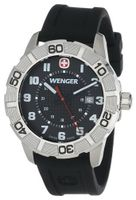 "Wenger 0851.101 ""Sport Roadster"" Stainless Steel and Silicone"