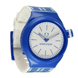 Wize & Ope Unisex Ope Postal Analogue SH-OP-3 with Blue Dial