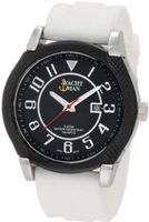 Yachtman YM0122WH Marley Textured Round Case with Black Dial