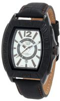 Yachtman YM0125BR Maverick Black Barrel Case with Silver Dial