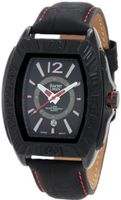 Yachtman YM0125RE Maverick Black Barrel Case with Black Dial