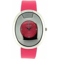 uZAZA London Zaza London Oval Shaped Pink Dial Ladies Fashion LLB857