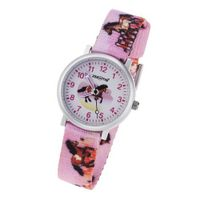 Zeeme es 095000003 Girls' Analog Quartz with Nylon Strap, Horse Design