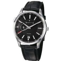 Zenith 03.2130.682/22.C493 Captain Dual Time Black Dual Time Display