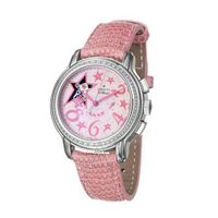 Zenith 16-1230-4021-70-C 515 Automatic Stainless Steel Case Pink Leather Anti-Reflective Sapphire