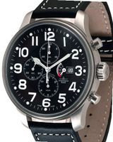Zeno- Basel Big Stars Giant Pilot Chrono Power Reserve